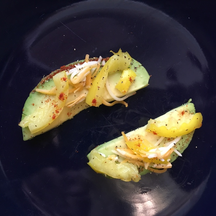"My ""toastless"" Avocado Toast Bites"